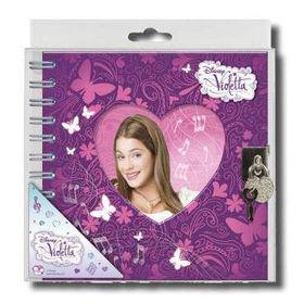 Diario Violetta Disney candado