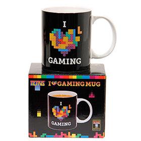 Tetris taza mug I heart gaming
