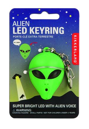 Llavero Led Alien con sonido