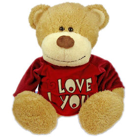 Peluche Osito Love sweater 45 cm