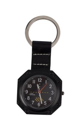 Llavero reloj panel de control avión