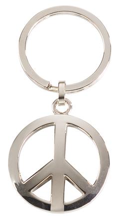 Llavero de la paz de niquel