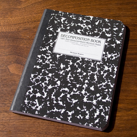 Cuaderno ecológico Decomposition Books flor de cereza