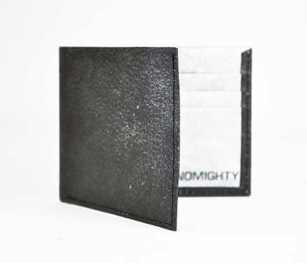 Billetero Mighty Wallet Piel Negra