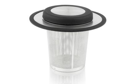 Infusor de té para taza o mug con tapa