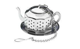 Infusor de té con forma de tetera acero inoxidable