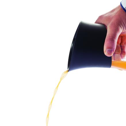 Exprimidor de zumo press con jarra de cristal