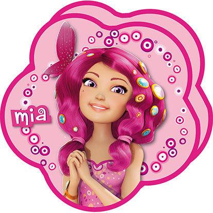 Cojín Mia and Me con forma de flor