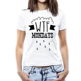 Camiseta original WTF Mondays para mujer