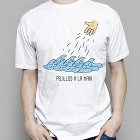 Camiseta original Pelillos a la mar para hombre