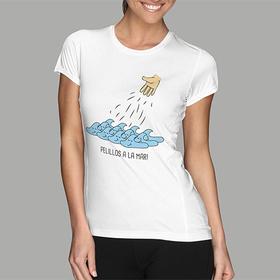 Camiseta original Pelillos a la mar para mujer