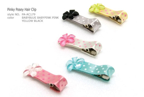 Clip Pinky Posey Hair Clip