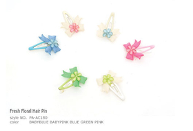 Clip Fresh Floral Hair Pin