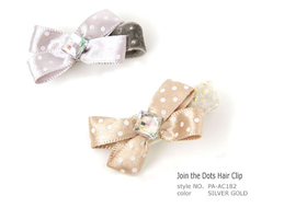 Clip Join the Dots Hair Clip