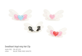 Clip Sweetheart Angel wing Hair Clip