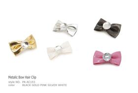 Clip Metalic Bow Hair Clip