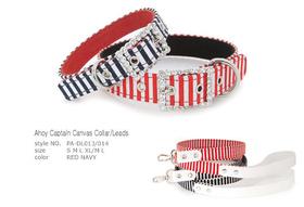 Ahoy Captain Canvas Collar
