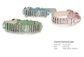 Collar Colourful Diamond