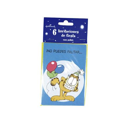 Invitación de cumpleaños Garfield -¡No puedes faltar...