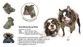 Army Barmy Zip-up Parka