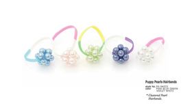 Puppy Pearls Hairbands