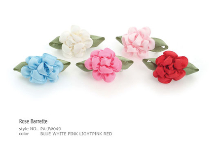 Rose Barrette