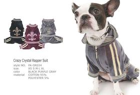 Crazy Crystal Rapper Suit