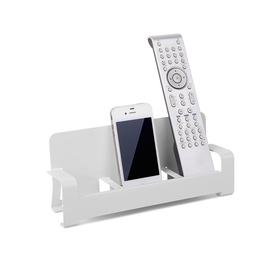 Soporte para mando a distancia o teléfono Couchpal de color blanco