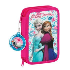 Plumier Frozen Disney Elsa Anna doble 34pz