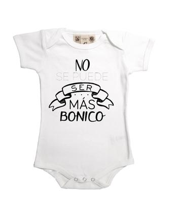 Body original manga corta para bebé niño bonico