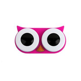 Caja para las lentillas en forma de Búho