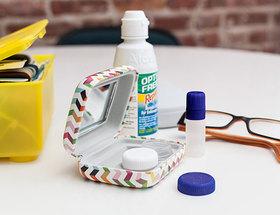 Kit para lentillas en forma de cenefa
