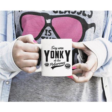Taza original Yonky de los polvorones