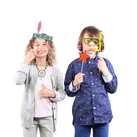 Kit de disfraces Photobooth Kids