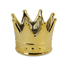 Porta anillos Royal dorado de cerámica