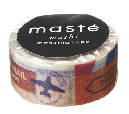 Washi tape Maste de sellos 7m