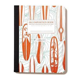 Libreta ecológica Decomposition Books tablas de surf
