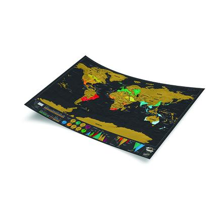 Mapa mundo deluxe de rascar (scratch map)