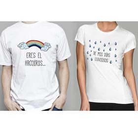 Camiseta original doble Eres mi arcoíris