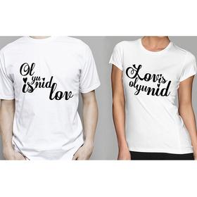 Camiseta original doble Ol Yu Nid Is Lov