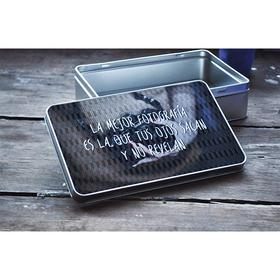 Caja de metal rectangular La mejor fotografía...