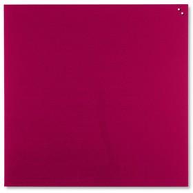Pizarra Cristal Magnética Roja 100X100