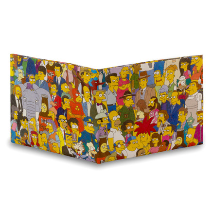 Cartera Mighty Wallet Personajes De Los Simpsons