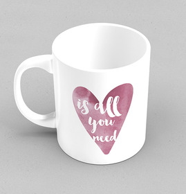 Taza original Love is all you need