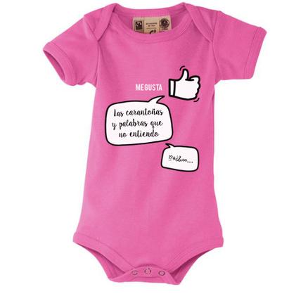Body para bebés Me gustan las caricias