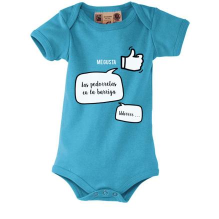 Body para bebés Pedorretas
