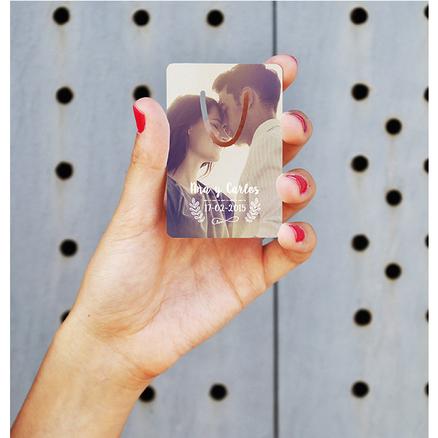 Punto de libro rectangular personalizable