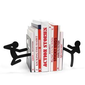 Sujeta libros Stickmen