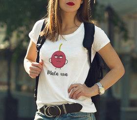 Camiseta original Mala uva para mujer