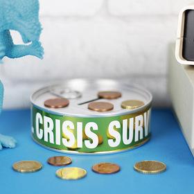 Hucha Kit de supervivencia para la crisis financiera